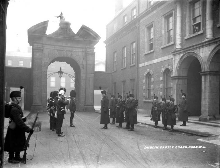 Dublin Castle, home of the British administration in 1916.