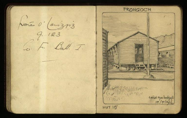 Example of Autograph Book