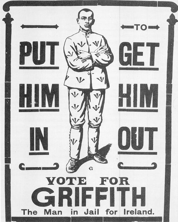 1918 general election poster.